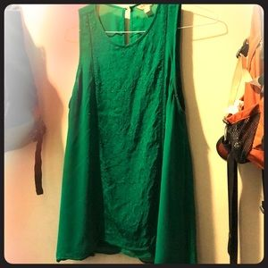 Bright Green Lucky Brand Top